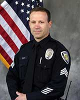 Official photo of Beaverton Police Captain Mike Smith.