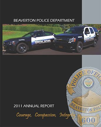 Cover of 2015 BPD Annual Report